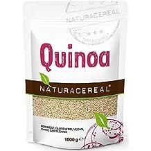 Quinoa blanca Premium - 1kg - NATURACEREAL | Mayor contenido de minerales que el arroz,