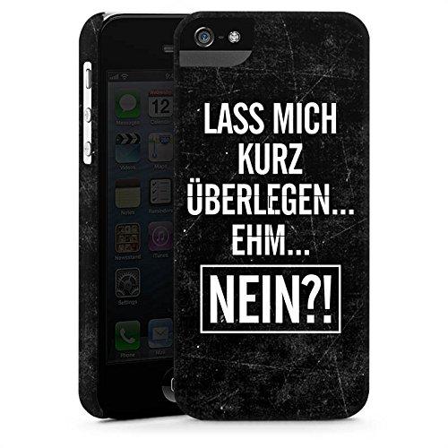 Apple iPhone X Silikon Hülle Case Schutzhülle Sprüche Statements Humor Premium Case StandUp