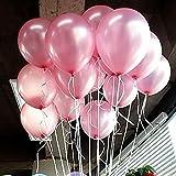Seguryy Sachet De 100 Ballons Nacrés Pe...