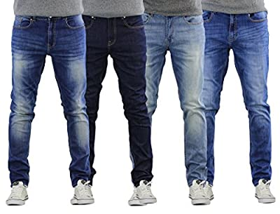 Mens Jeans Firetrap Deadly Skinny Stretch Cotton Denim Pants
