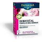 Dietaroma - Dermideal complexe zinc bardane cure 1 mois - 30 comprimés - Beauté de la peau