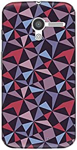 The Racoon Lean printed designer hard back mobile phone case cover for Moto X (1st Gen). (crazy tria)