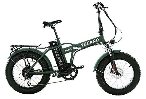Tucano Bikes Monster 20 Limited Edition. Bicicleta Eléctrica Plegable - Motor 500W - Supensión Delantera - Velocidad Máxima 33km/h -...
