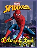 SPIDER-MAN: Coloring book: 50 pages for coloring for children and adults. For all fans of the hero cartoon