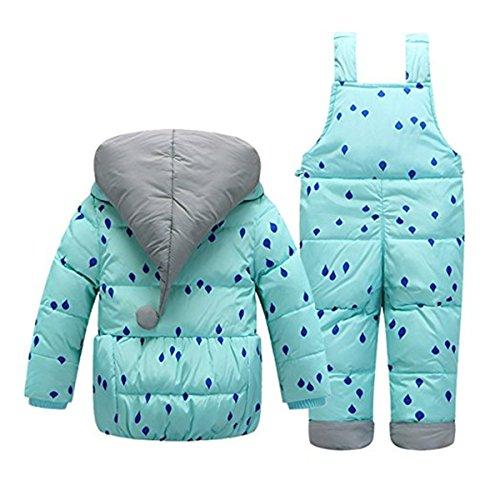 fairyrain combinaison de neige b b gar on 0 24. Black Bedroom Furniture Sets. Home Design Ideas