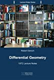 Differential Geometry: 1972 Lecture Notes: Volume 5