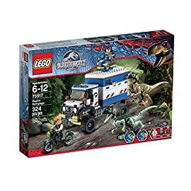 LEGO-Jurassic-World-Raptor-Rampage-75917-Building-Kit-by-LEGO