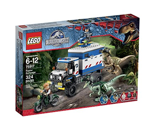 LEGO Jurassic World Raptor Rampage 75917 Building...