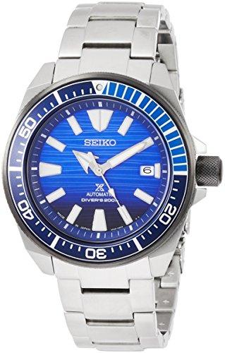 Seiko Reloj de Hombre automático 43mm Correa y Caja de Acero SBDY019