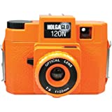 Holga 312120 Holga HOLGAGLO 120N Glow in The Dark Cameras (Aura Orange)