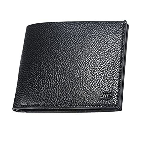 Zhuhaitf Portefeuille Mens Teenagers Father's Gift Soft Bi-Fold Money Organizer