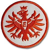 Eintracht Frankfurt Aufnäher, Patch Logo Rot 5 cm SGE - Plus Lesezeichen I Love Frankfurt