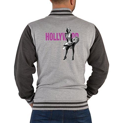 Mister Jacke ::: Marilyn Monroe in Hollywood ::: mit USA Motiv auf der Rückseite (Halloween In Hollywood)