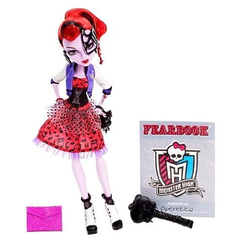 Mattel Monster High BBJ73 - Operetta, Puppe (Yeti-kostüm Kinder)