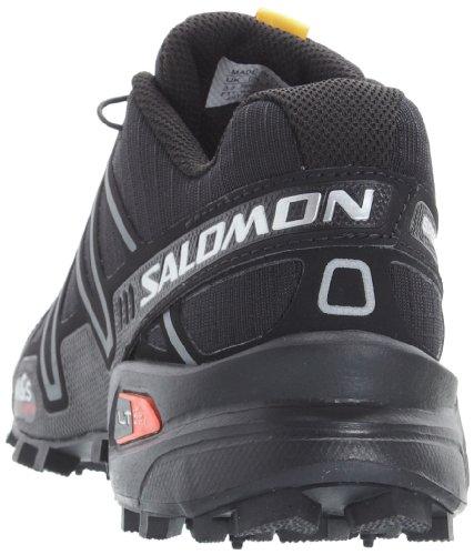 Salomon Speedcross 3 W, Scarpe sportive, Donna Nero (Schwarz (Black/Black/Silver Metallic-X))