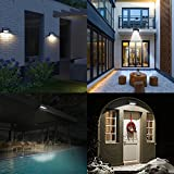 AMIR 24 LED Solar Lights, Garden Lights, Solar Powered Motion Sensor Lights with 4 Mode, Security Lights, IP65 Waterproof & Auto On/ Off for Patio, Deck, Yard, Garden, Home, Stairs Bild 1