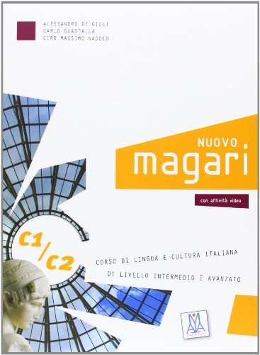 Nuovo Magari C1/C2. Libro dello studente. Con 2 CD Audio