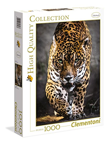 Clementoni - Puzzle de 1000 Piezas, diseño Walk of The Jaguar (39326.8)