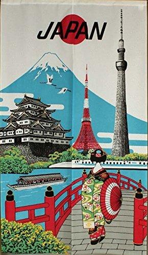 Narumikk Narumi Cortina japonés Noren Viaje de Japón 85cm x 150cm