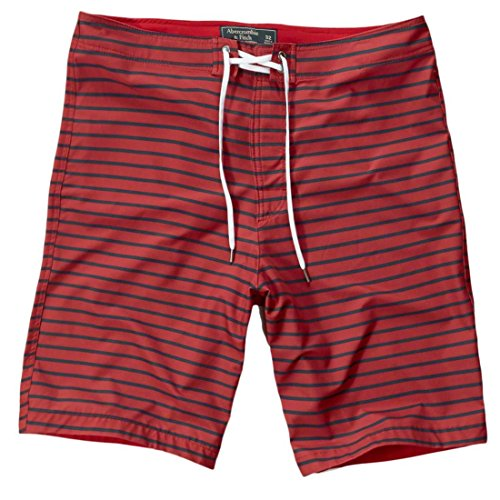 abercrombie-homme-af-9-swim-shorts-short-de-bain-bermuda-taille-x-large-rouge-a-rayures-620938008