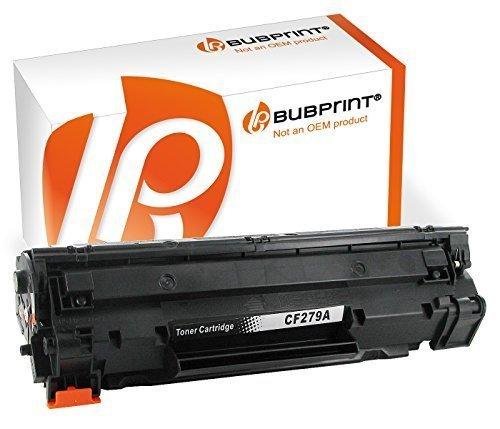 bubprint Tóner compatible para HP cf279a cf-279A cf279 79a Negro (1000 LADOS) LASERJET PRO m12a m12w M26A m26nw