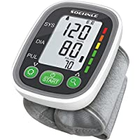 Soehnle Handgelenk Blutdruckmessgerät Systo Monitor 100 mit vollautomatischer Messung, Blutdruckmesser mit Bewegungssensor, Blutdruck Messgerät, inkl. Batterien