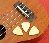 Sourcingmap Lot de 3médiators en feutre pour ukulélé ou guitare acoustique et guitare basse