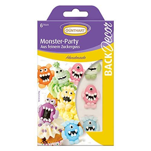 BackDecor Monster Zuckerfiguren Set | Monsterparty | Monster Geburtstag | Halloween (Monster Halloween Backen)