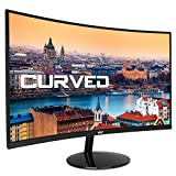 HKC 24A9 24 Zoll (60cm) Curved LED Monitor, Full-HD 1920x1080, HDMI, VGA - Schwarz