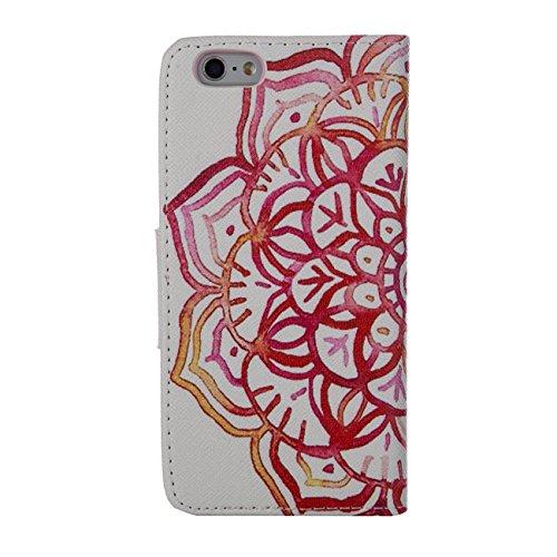 MOONCASE Étui pour Apple iPhone 5 / 5S Printing Series Coque en Cuir Portefeuille Housse de Protection à rabat Case Cover XK28 XK31 #0226