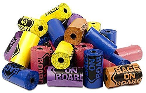 Bags on Board Mehrfarbig Dog Poop Pick Up Taschen, 840-count