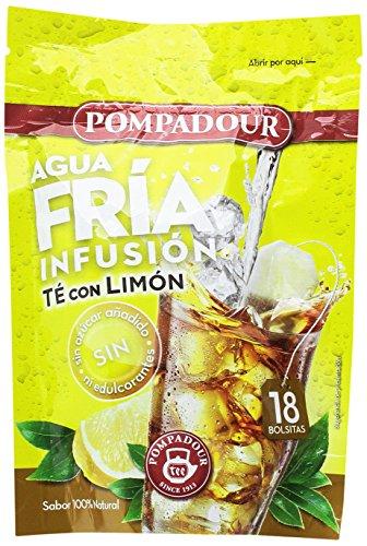 Pompadour Té Infusion Limón Frío - 18 bolsitas - [pack de 4]
