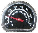 Music City Metals 00474 Temperaturanzeige für Gasgrills der Marken Broil King und Sterling - Mehrfarbig