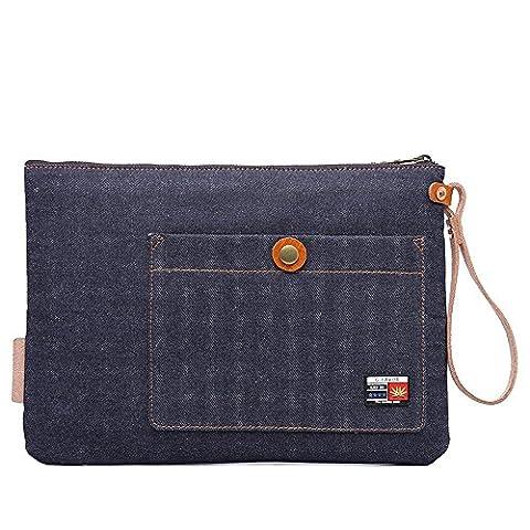 Neu, Retro, Persönlichkeit, Mode, Outdoor-Tasche, Handtasche, Leinwand, D0151