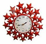 Handicraftscart Metal Multi Star Clock (...