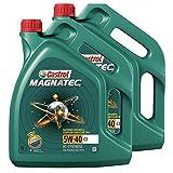 Castrol Magnatec 5W-40 C3 Motoröl Motorenöl Motor Motoren Öl; Spezifikationen/F, 2x 5 L = 10 Liter