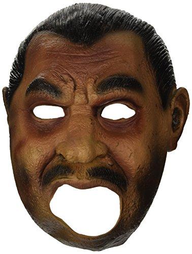 Widmann Maske 1533/3/4mit Mouth Open Gangster, Pink/Schwarz, Einheitsgröße