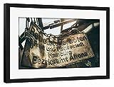 Gerahmt 30x20 cm Städte / Hamburg Altona Gerahmt schwarz seidenmattes Premium-Fotopapier - Wandbild Städte / Hamburg Kunstdruck von Tino Wichmann