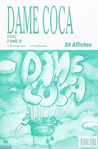 Affiches dame Coca. 24 affiches