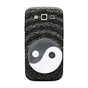 Desicase Samsung S3 Solor System 3D Matte Finishing Printed Designer Hard Back Case Cover (Black)