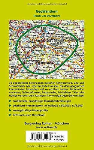 GeoWandern um Stuttgart Gäulandschaften Keuperbergland Albvorland Schwäbische Alb Mit GPS-Daten Abbildung 2