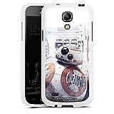 DeinDesign Samsung Galaxy S4 mini Silikon Hülle Case Schutzhülle Bb-8 Star Wars 8 Merchandise Fanartikel