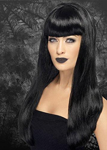Ladies gotica parrucca nera