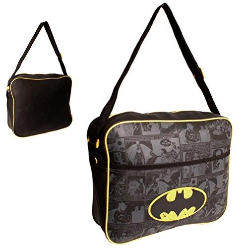 Batman Bolso Escolar BATMAN001016 Azul