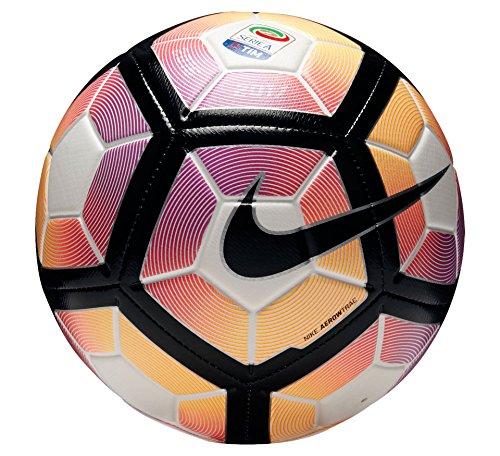 Nike STRIKE-SERIE A Ball, Unisex, White - (white/purple/Black)