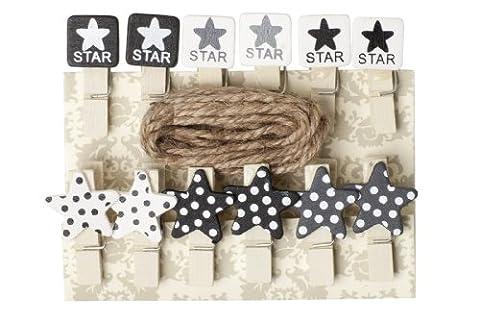 Star pinces à linge