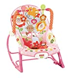 Fisher-Price Infant-to-Toddler Bunny Rocker, New-born Baby Bouncer Suitable from Birth Can Be Used as a Baby Chair