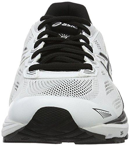 Asics Gt-1000 5, Scarpe Running Uomo Bianco (White/Black/Silver)