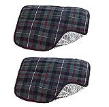 infactory Alubeschichtetes Sitzkissen mit Kälte-Isolierung 2er Pack