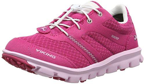Viking Maverick Gtx, Baskets Basses mixte enfant Rose - Pink (Fuchsia/Pink 1709)